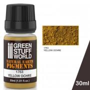 Pigments yellow Ochre