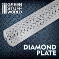 Rolling Pin Diamond Plate - Small 0