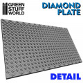 Rolling Pin Diamond Plate - Small 1