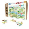 Puzzle - Paris Illustre - 24 Pièces 0