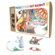 Puzzle - Animaux Familiers en Folie - 12 Pièces