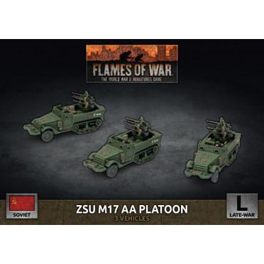 Flames of War - ZSU M17 AA Platoon