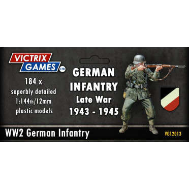 German Infantry and Heavy Weapons (12mm)