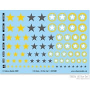 US Star Set 2 (Yellow & Dark Grey US Star)