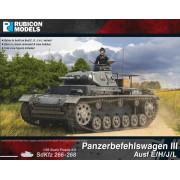 Panzerbefehlswagen III Ausf E/H/J/L