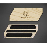 Mythic Leaf: Pen and Dice - Black Ash Plated
