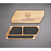 Mythic Leaf: Pen and two compartments - Black Walnut Veneer