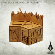 Skargruk Line - Wall 45 Degrees