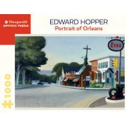 Puzzle- Edward Hopper- Portrait Of Orléans - 1000 pièces