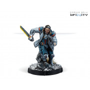 Infinity - Aleph - John Hawkwood, Merc Officer (K1 Marksman Rifle).