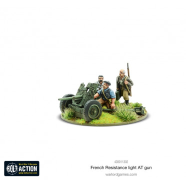 Bolt Action - French Resistance Light Anti-Tank Gun
