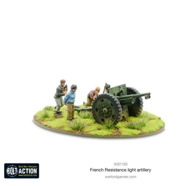Bolt Action - French Resistance Light Artillery