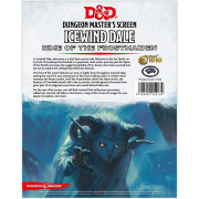 D&D - Dungeon Master's Screen - Icewind Dale