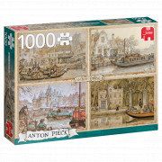 Puzzle 1000 pièces - Canal Boats