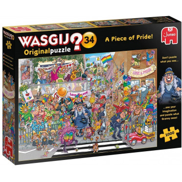 Wasgij Original 34 - 1000 Pièces