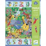 Puzzle Geant : Geant 1 à 10 Jungle