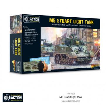 Bolt Action - M5 Stuart
