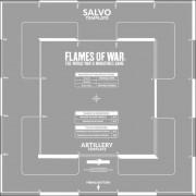Flames of War - Salvo Template