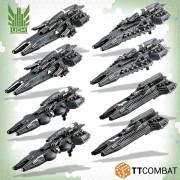 Dropfleet Commander - UCM Frigate Box