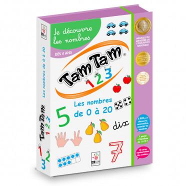 Tam Tam 1 2 3 - Je découvre les nombres - Le coffret