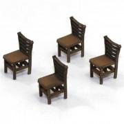 Ladder Back (A) Chair (x4)