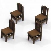 Square Back (B) Chair (x4)