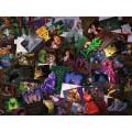 Puzzle Villainous - Méchants Disney 1