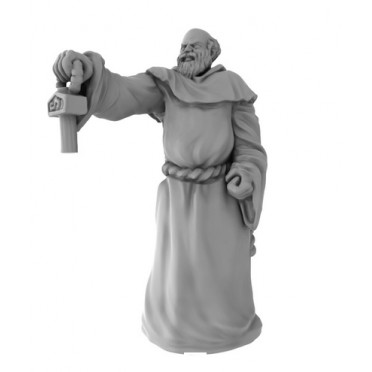 Friar 1 - Channel Divinity Pose