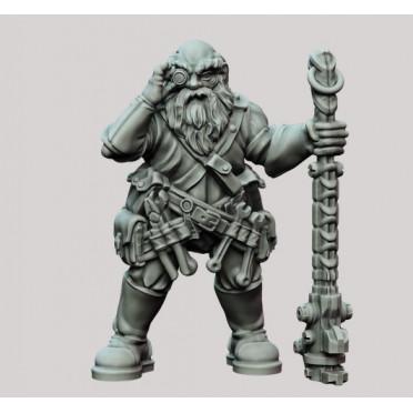 3D Printed Miniatures: Male Battlesmith