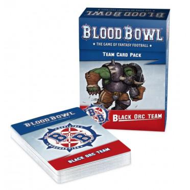 Blood Bowl : Black Orc Team Card Pack