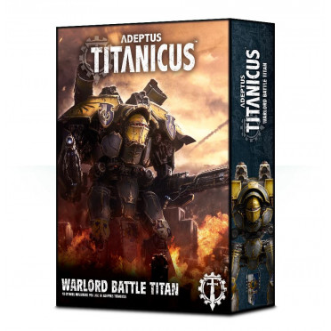 Adeptus Titanicus : The Horus Heresy - Warmaster Heavy Battle Titan