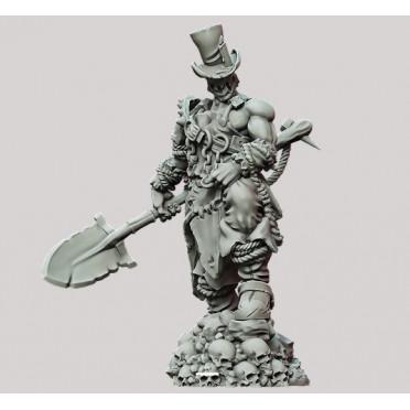 3D Printed Miniatures: Graveyard Guy