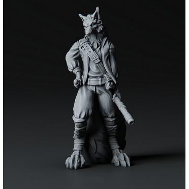 3D Printed Miniatures: Volpine Archon