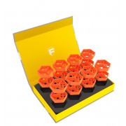 Feldherr Magnetic Box Yellow for Tokens and Small Game Material