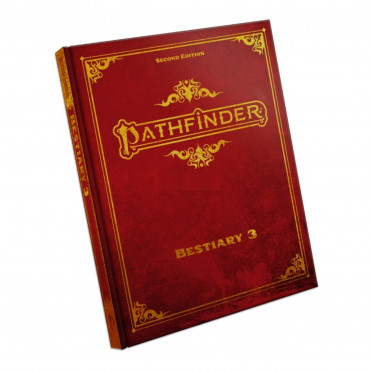 Pathfinder Second Edition - Bestiary 3 Special Edition