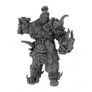 3D Printed Miniatures: Danai Orc Chieftain