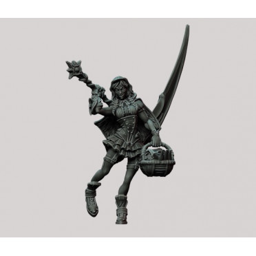 3D Printed Miniatures: Inquisitor Red Hood - Scyth