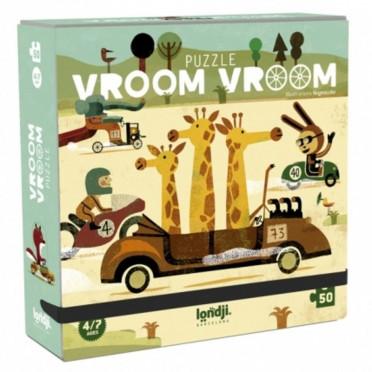 Puzzle - Vroom Vroom - 50 Pièces