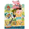 Puzzle - My 3 Little Pigs - 36 Pièces 1