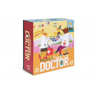 Puzzle - I want to be... Doctor - 36 Pièces