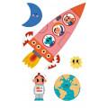 Puzzle - Valentina in Space 1