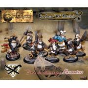"""Briskars - Mercenaires - La Bande """"10"""" Manchots"""