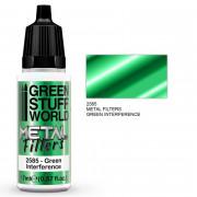 Filtre Métallique - Interférence Verte