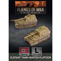 Flames of War - Elefant Tank-Hunter Platoon 0