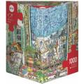Puzzle - Cartoon de Paul Korky – 1000 Pièces 0
