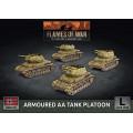 Flames of War - Armoured AA Tank Platoon 0
