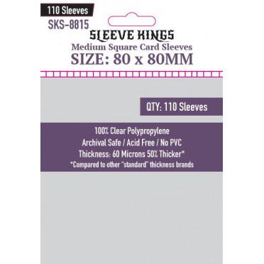 Sleeve Kings - Medium Square Card - 80x80mm - 110p