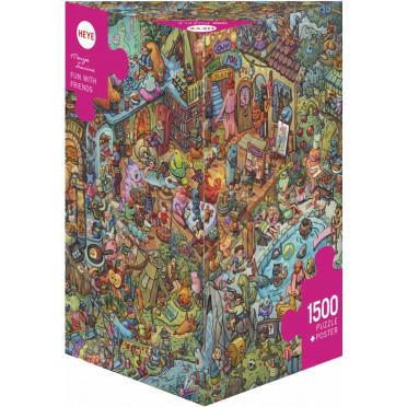 Puzzle - Fun wth Friends de Marija Tiurina – 1500 Pièces