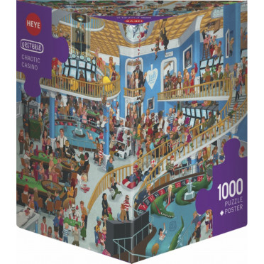 Puzzle - Chaotic Casino de Uli Oesterle – 1000 Pièces