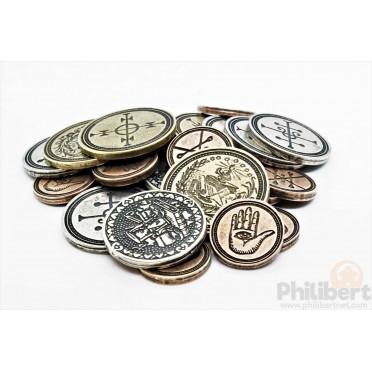 Set de Pièces Métal - Alchimiste